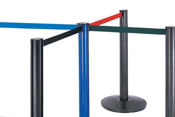 BoXin hotel velvet rope stands get quote for line stand-2