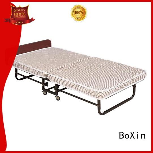 BoXin rollaway bed hotel company for hospital