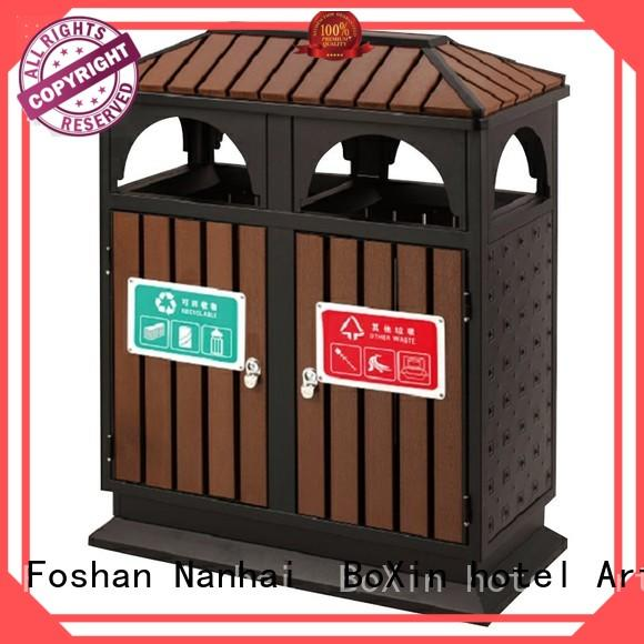 BoXin latest outdoor trash bin bulk production for outdoor