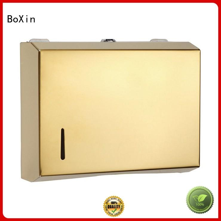 BoXin solid mesh stainless steel paper towel dispenser get quote for public restroom