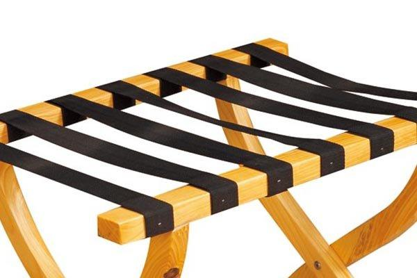BoXin-Wooden Luggage Rack For Hotel Folding Luggage Rack | Luggage Carrier Factory-1