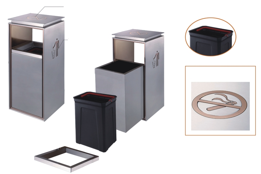 BoXin portable hotel trash can ODM-BoXin-img-1