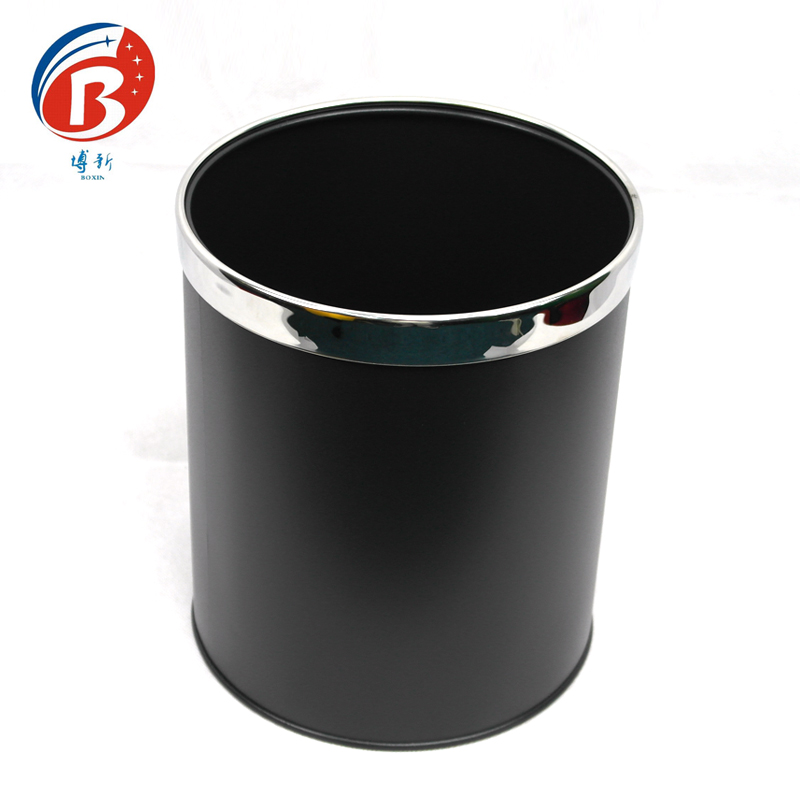 BoXin High quality stainless steel waste bin / dustbin / trash can Room trash can image25