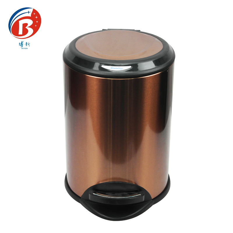 BoXin BX-C358High quality stainless steel trash can garbage can Room trash can image23