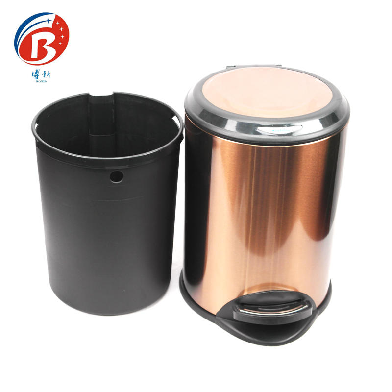 BX-C358High quality stainless steel trash can garbage can