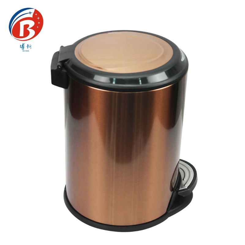 BoXin-Manufacturer Of High Quality Stainless Steel Trash Can Garbage Can-1