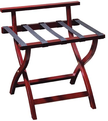 BoXin-Hotel Room Solid Wood Folding Modern Luggage Rack with Shelf