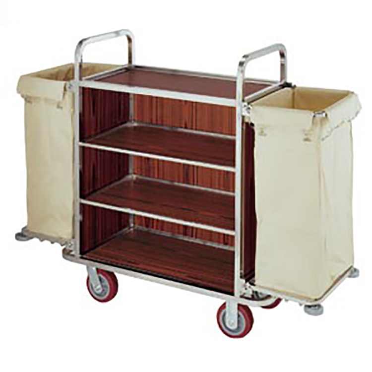 BoXin-Hotel room service trolley hospitality service cart service trolley-1