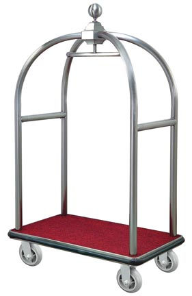 BoXin-Boxin Hotel Trolley Room Stainless Steel Trolley-2
