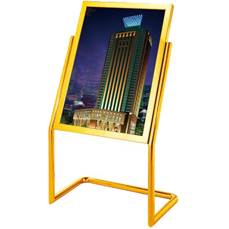 BoXin-Best Outdoor Trash Can High Quality Metal Hotel Lobby Sign Stand