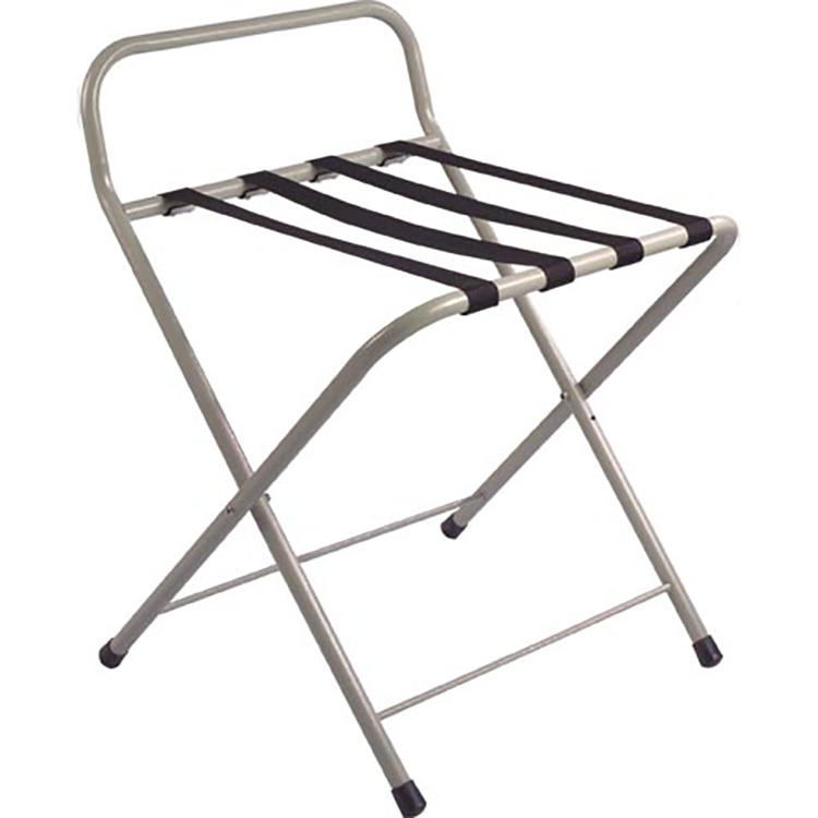 Customized foldable luggage rack for hotels room