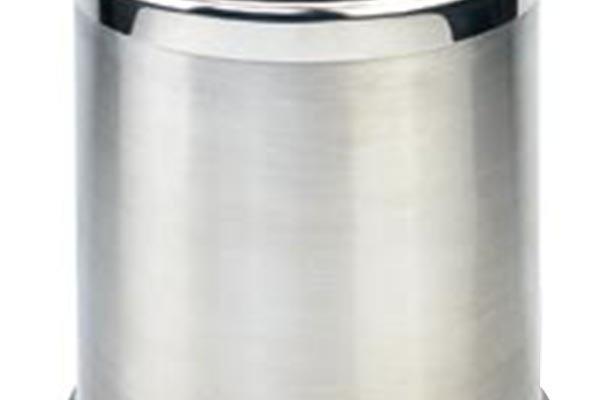 BoXin-Bedroom Garbage Can, Stainless Steel Metal Hotel Room Waste Bin-5