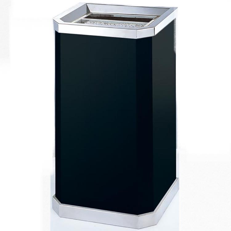 BoXin-Manufacturer Of Ashtray Garbage Combo Hotel Lobby Trash Can With Ashtray-3
