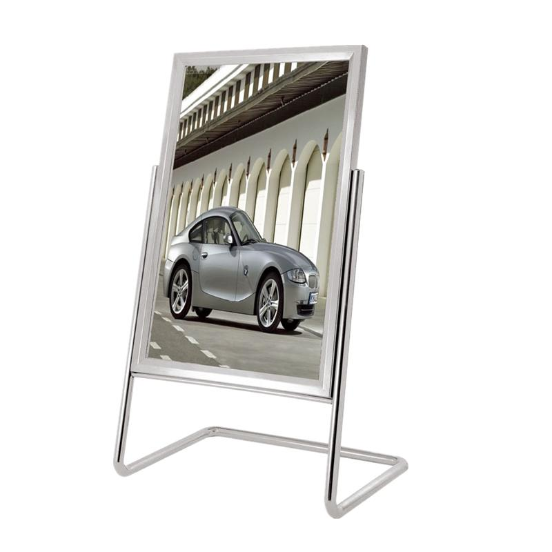 High quality metal material hotel lobby sign stand