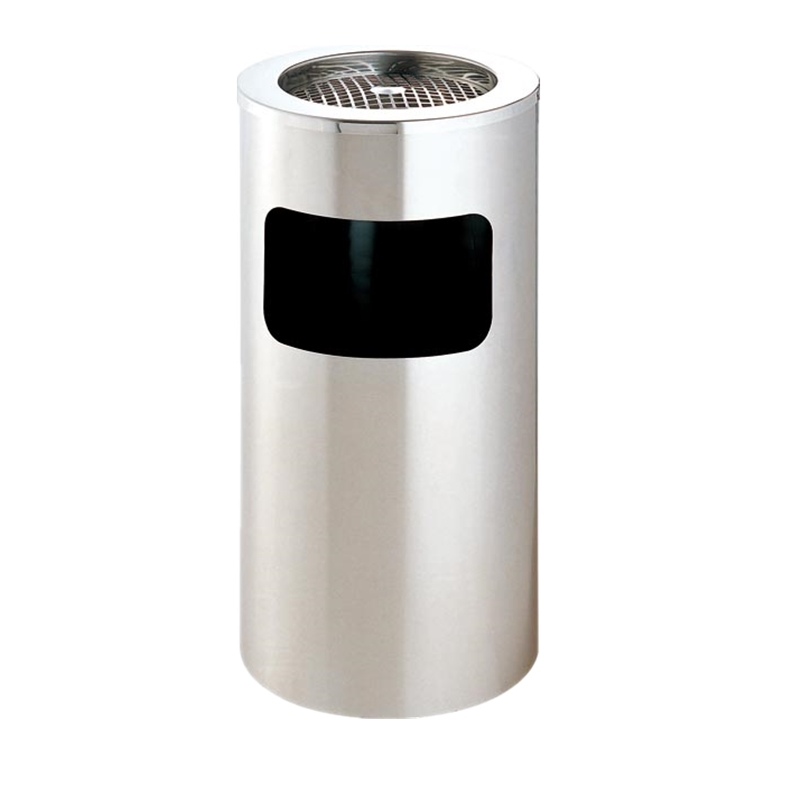 BoXin-Commercial Indoor Trash Cans Guangdong Boxin Metal Round Gold Waste Bin