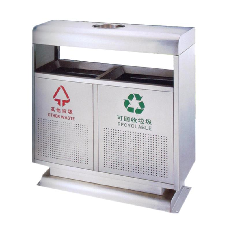 High quality outdoor garbage collection equipment garbage bin