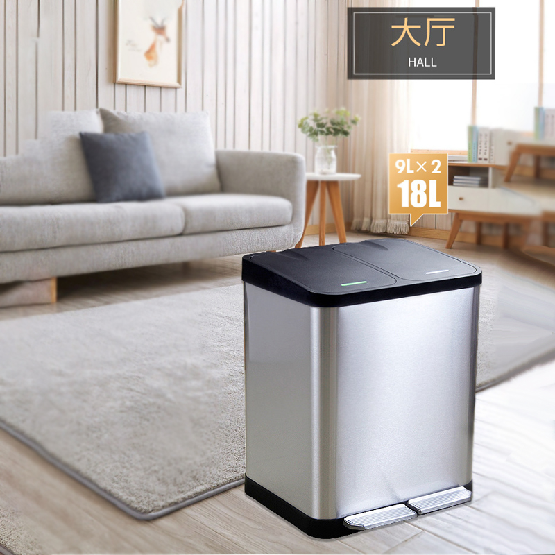 BoXin-BoXin high-quality bedroom trash cans customization