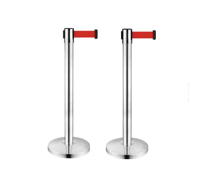 Oem steel queuing control Retractable belt post q manager suppliers boom stanchion que barriers for bank For Sale-BoXin