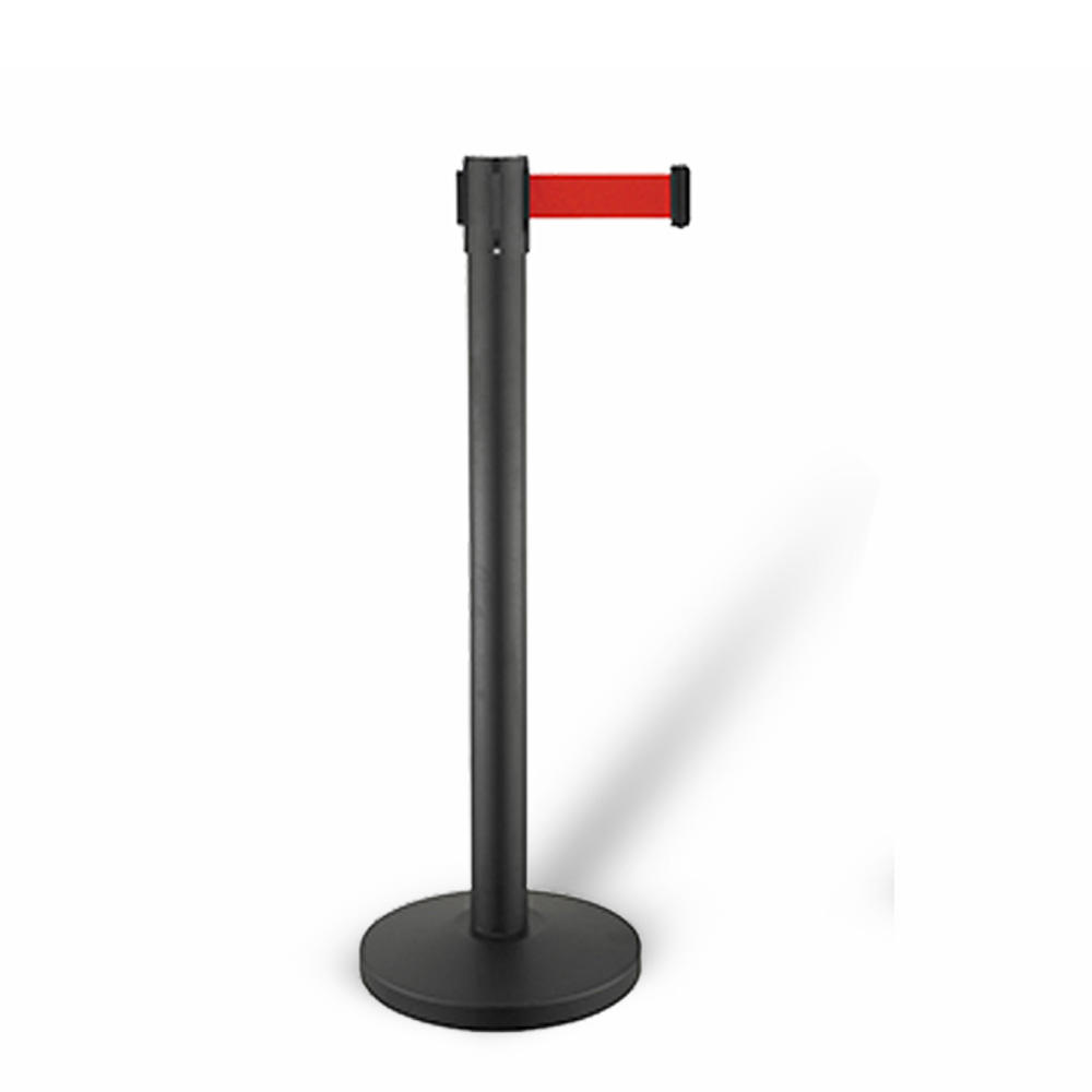 movie theater metal crowd control barrier post retractable barricade belt stanchions for crowd control