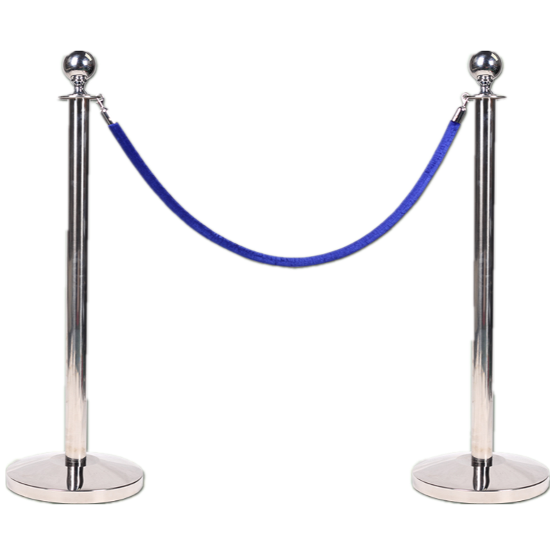 Economical crowd control stanchions/rope post for hotel