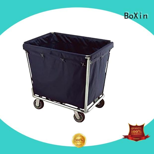 BoXin top trolley service with wheels for laundry service