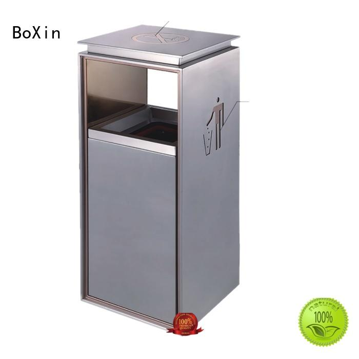 BoXin cans trash can with ashtray buy now