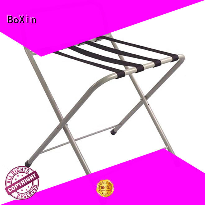BoXin hotel luggage carrier factory for hotel room