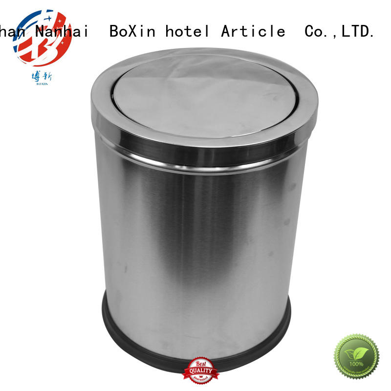 BoXin Breathable bedroom trash cans OEM