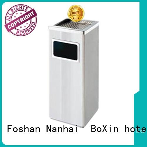 30L Hotel Stainless Steel Ashtray Square Ground Trash Can