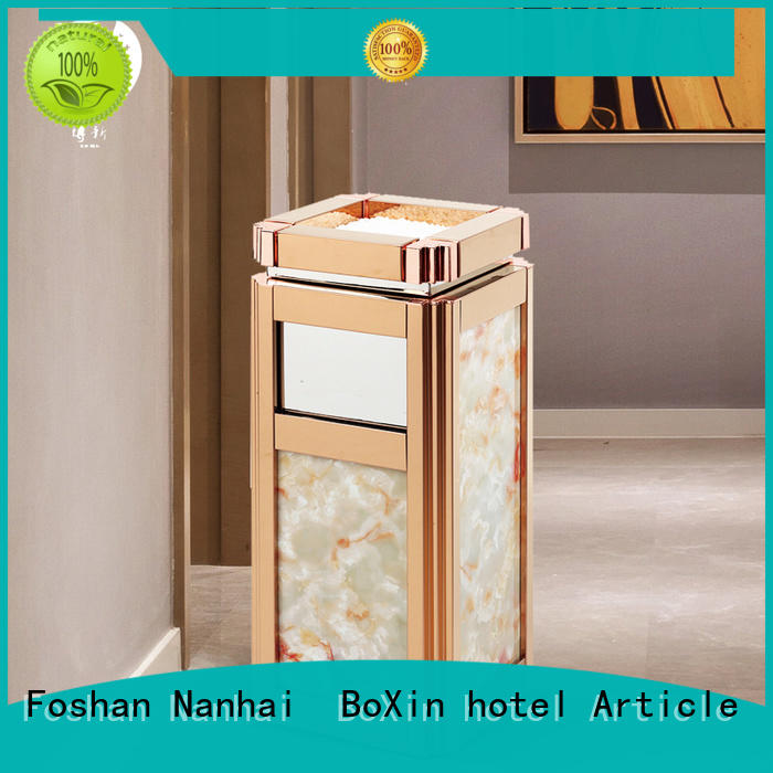 BoXin on-sale garbage can with ashtray for wholesale