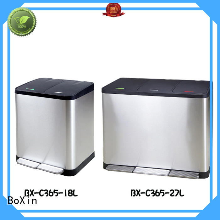BoXin durable bedroom trash cans free sample