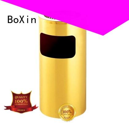 BoXin hotel garbage cans manufacturers for school