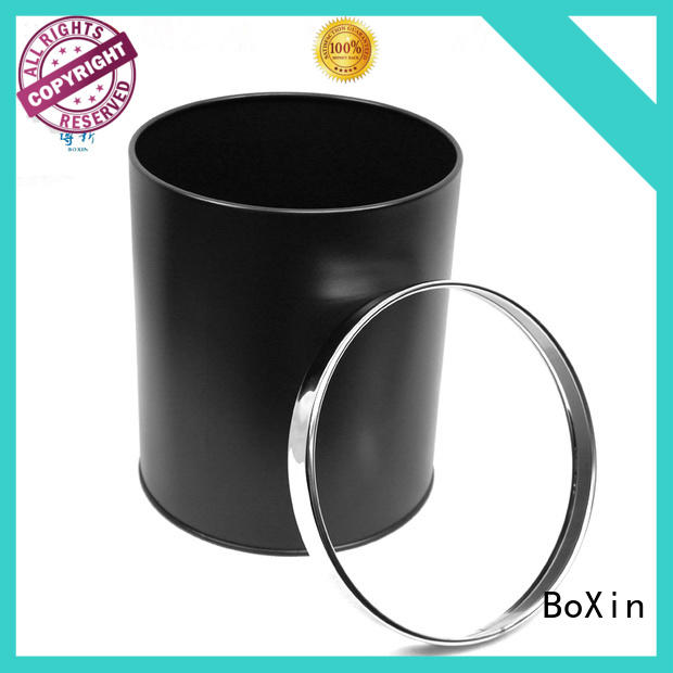 metal bathroom trash can with lid suppliers for hotel