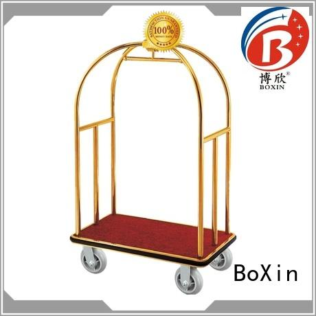 BoXin latest hotel luggage carts for sale manufacturers for baggage carry
