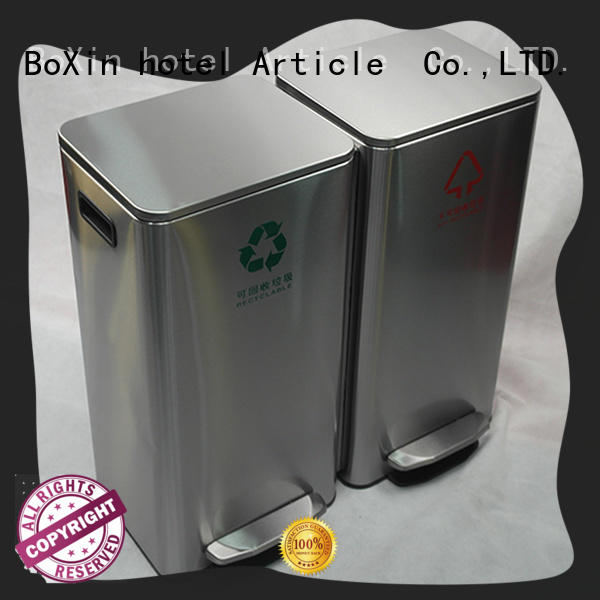 metal bedroom trash cans factory for shopping mall