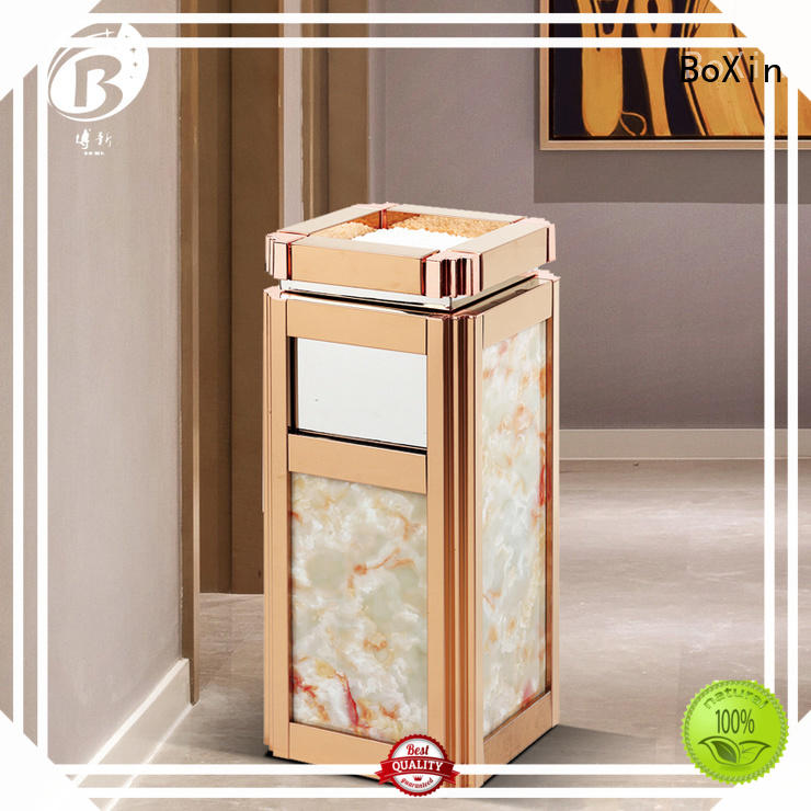 BoXin durable hotel waste bins free sample