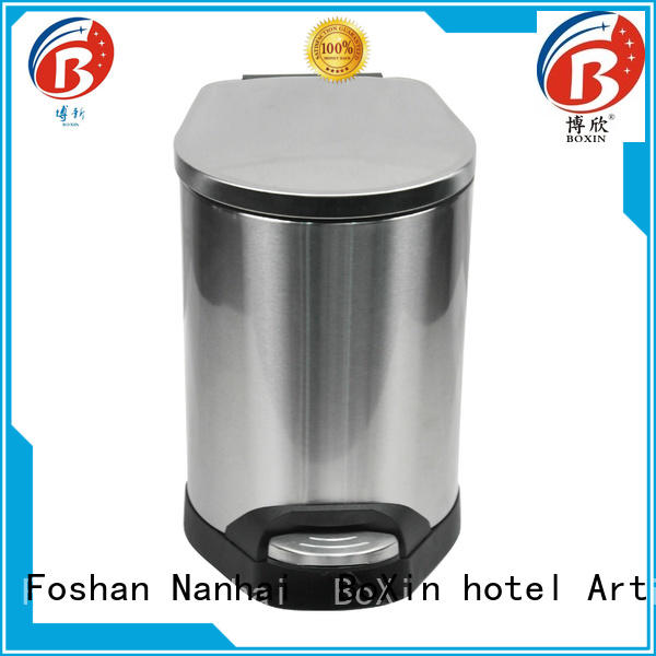 BoXin bedroom trash cans factory for shopping mall