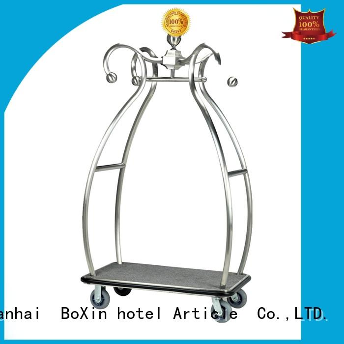 BoXin luggage trolley price for business for valued guests
