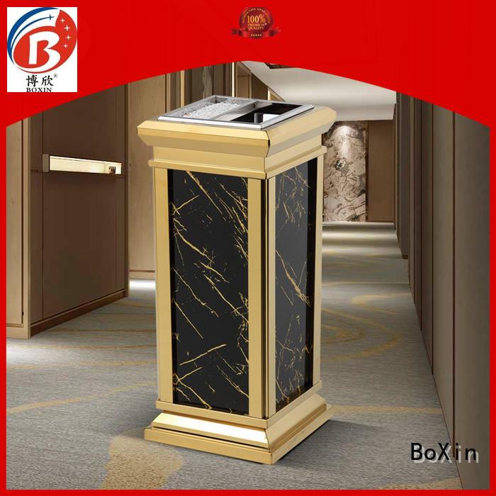 Hot indoor garbage bins steel BoXin Brand