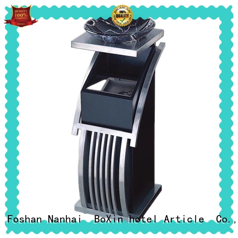 flower garbage can with ashtray get quote BoXin