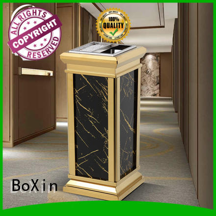 BoXin marble garbage can with ashtray bulk production
