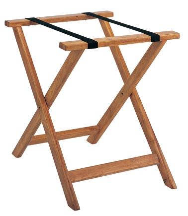 BoXin-Hotel Room Solid Wood Folding Modern Luggage Rack with Shelf-1
