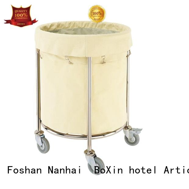 modern food service trolley janitorial cleaning for towel cart