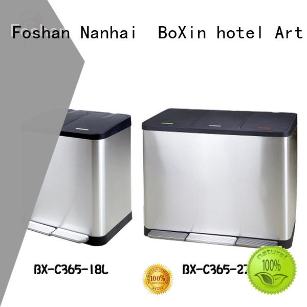 BoXin industrial bedroom garbage can company for shopping mall