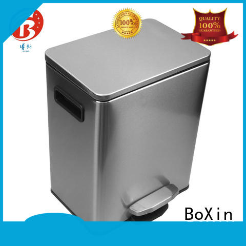 BoXin indoor bedroom trash cans suppliers for office