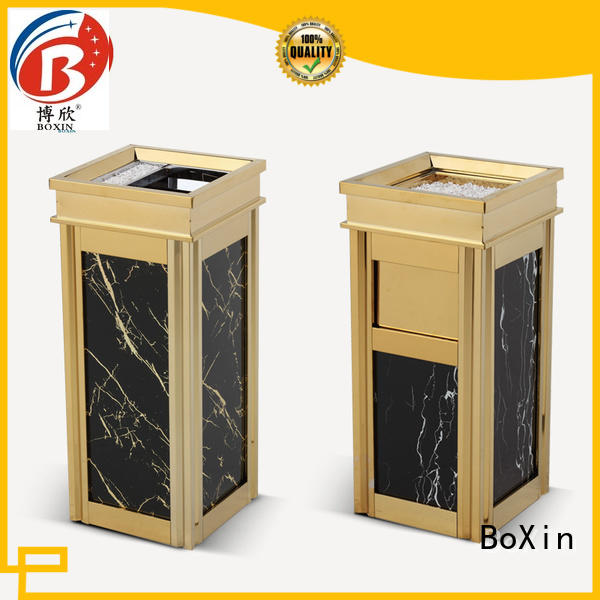 BoXin Breathable hotel room trash cans ODM