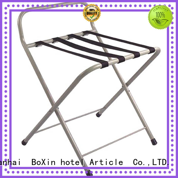 BoXin on-sale hotel luggage rack customization