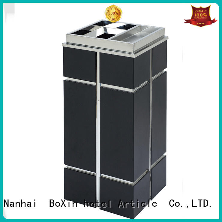 BoXin hotel garbage cans suppliers for garden